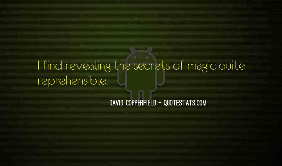 Copperfield Quotes #125792