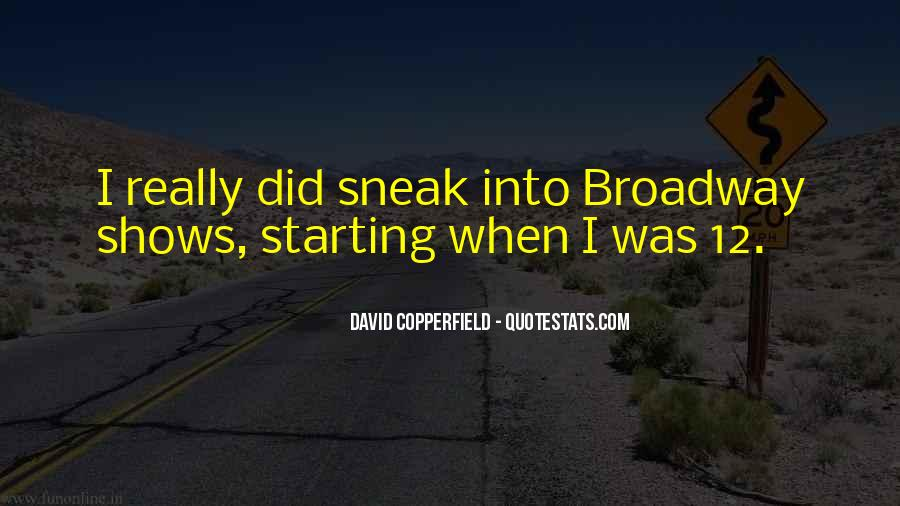 Copperfield Quotes #1262474