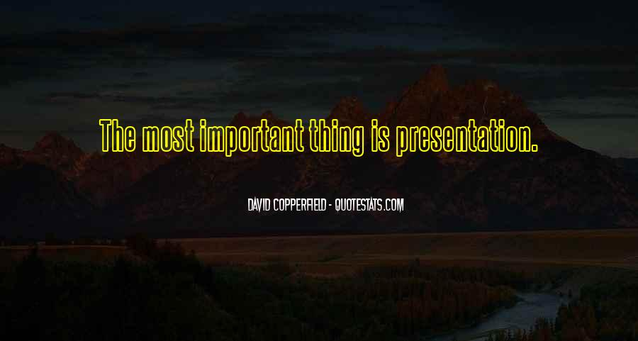Copperfield Quotes #130404