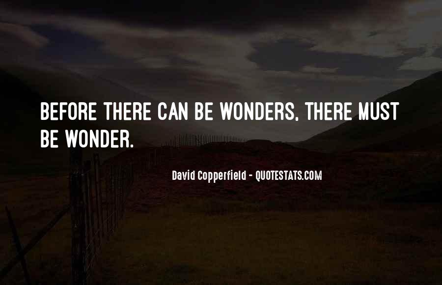 Copperfield Quotes #1413631