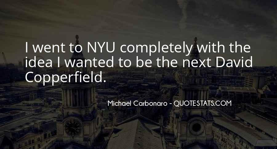 Copperfield Quotes #1832773