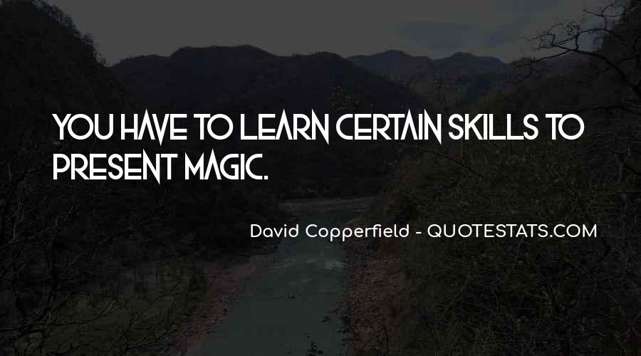 Copperfield Quotes #285703