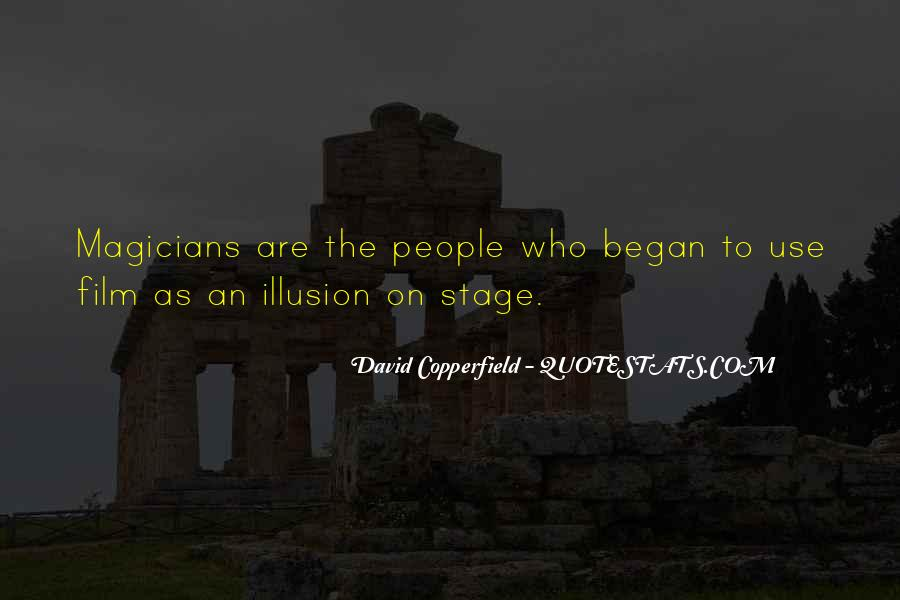 Copperfield Quotes #68576
