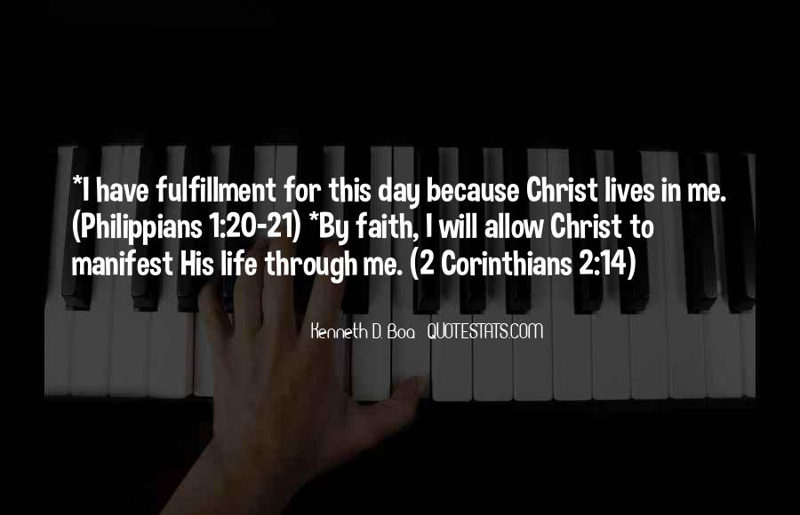 Corinthians Life Quotes #1420020