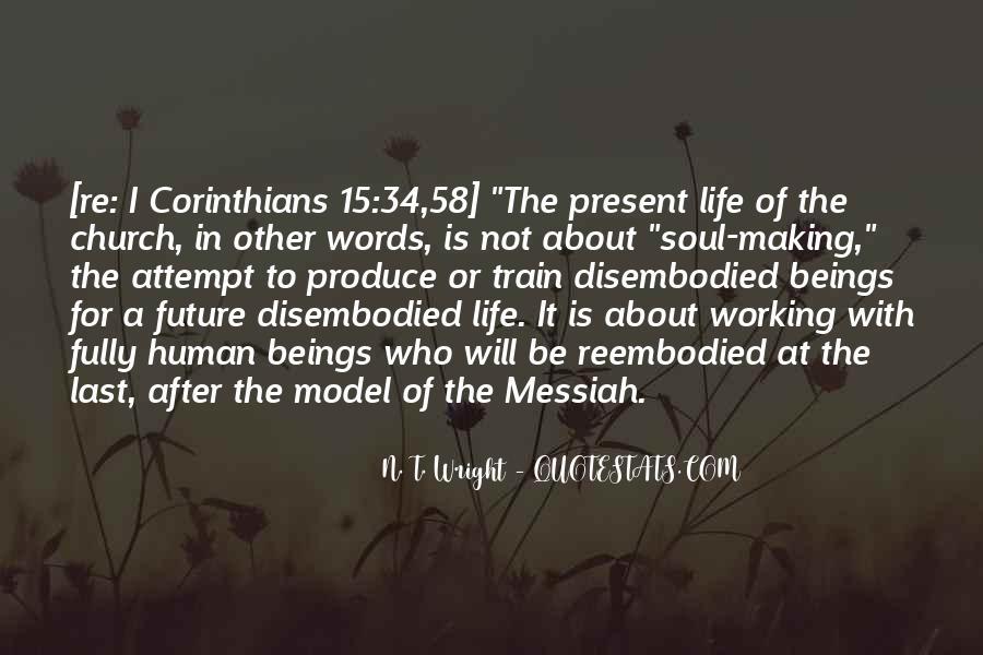 Corinthians Life Quotes #396810