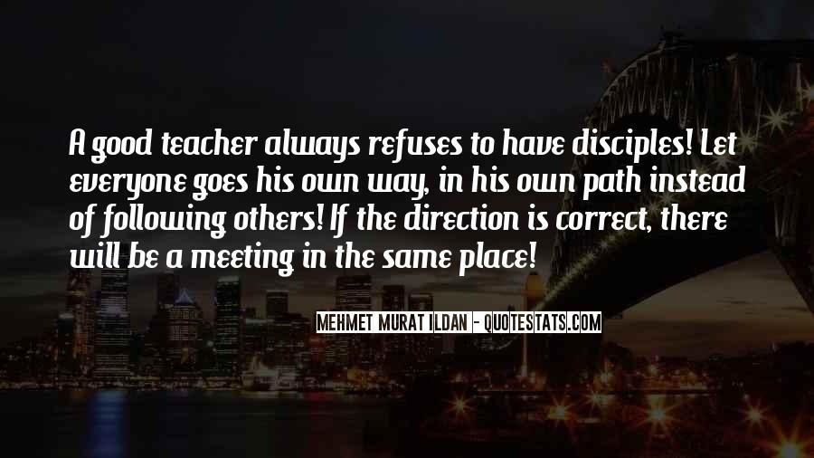 Correct Path Quotes #5134