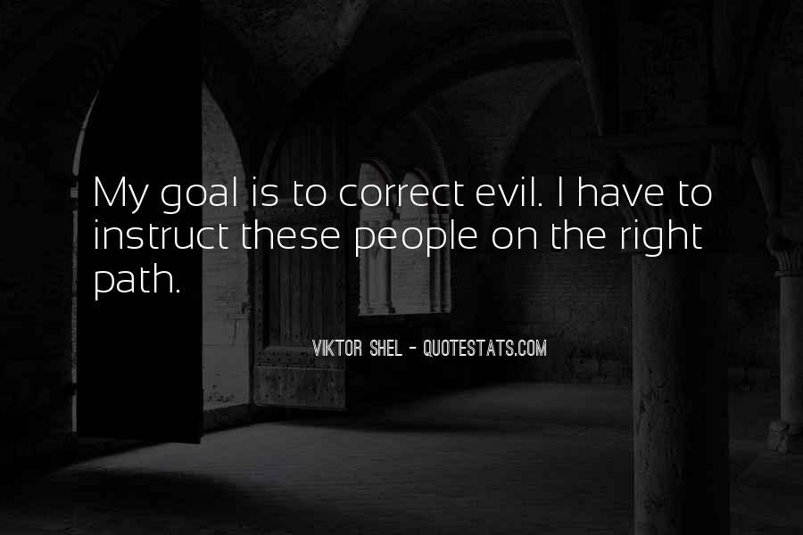 Correct Path Quotes #547528