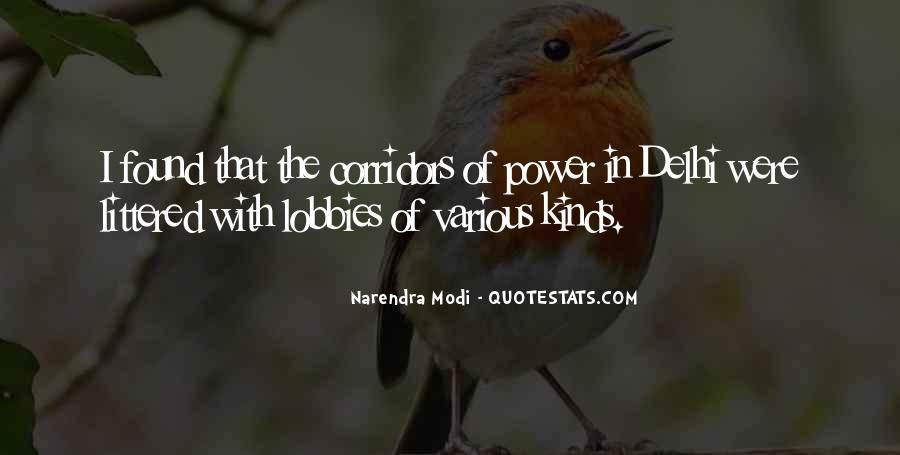 Corridors Of Power Quotes #1156181