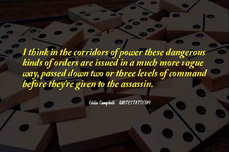 Corridors Of Power Quotes #302748