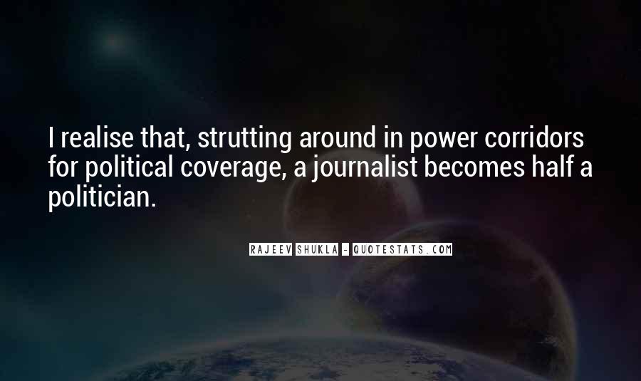 Corridors Of Power Quotes #554883
