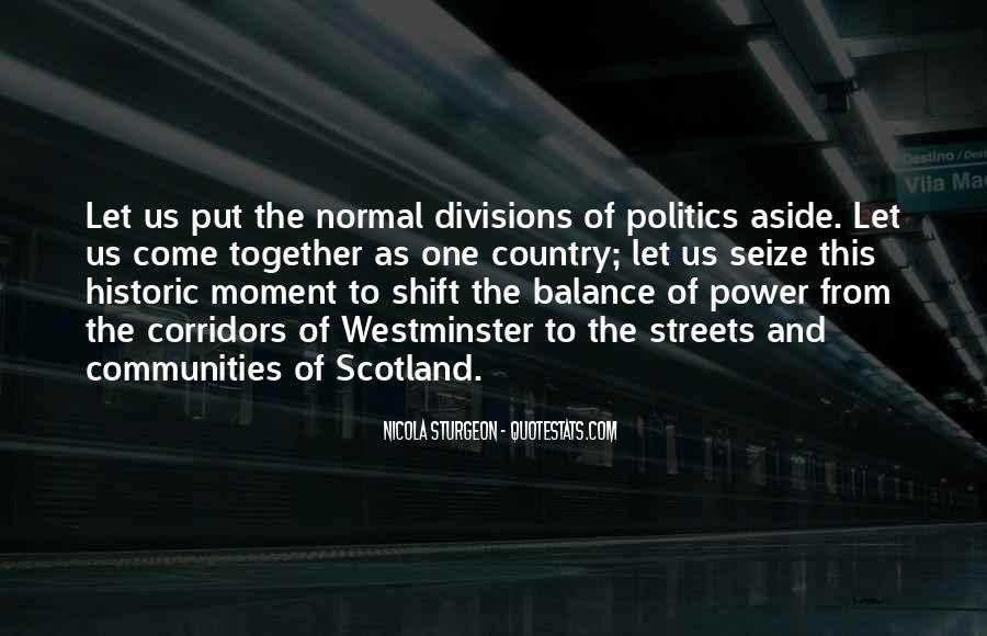 Corridors Of Power Quotes #965453