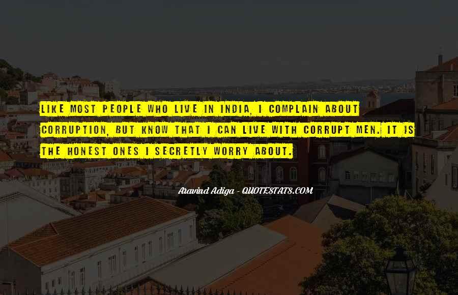 Corrupt India Quotes #884142