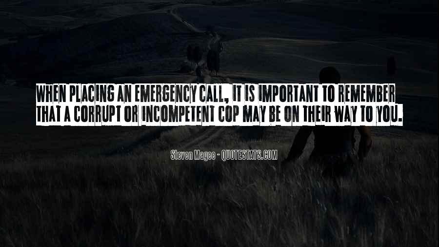 Corrupt Police Quotes #1224237