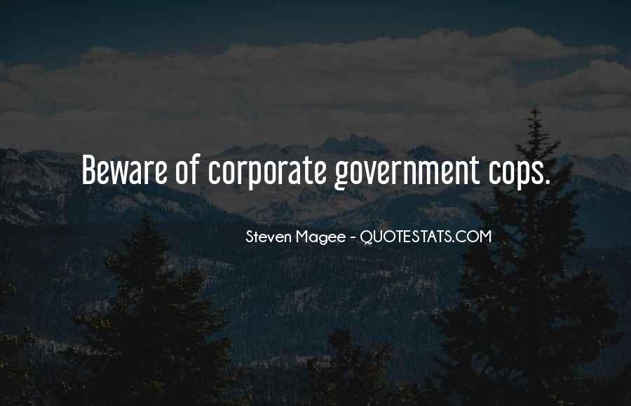 Corrupt Police Quotes #1358121