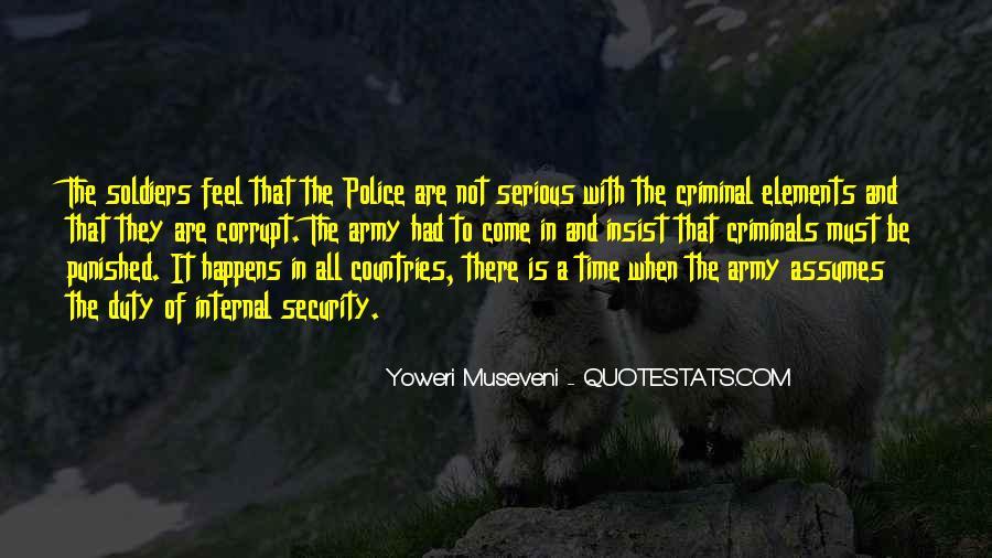 Corrupt Police Quotes #554872
