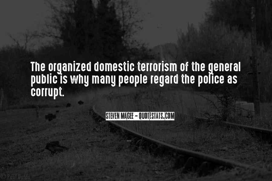 Corrupt Police Quotes #921705