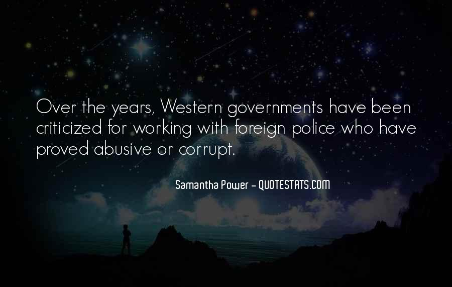 Corrupt Police Quotes #958875