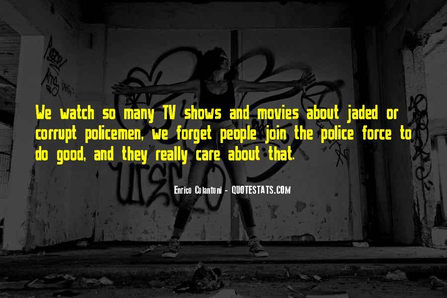 Corrupt Police Quotes #999420