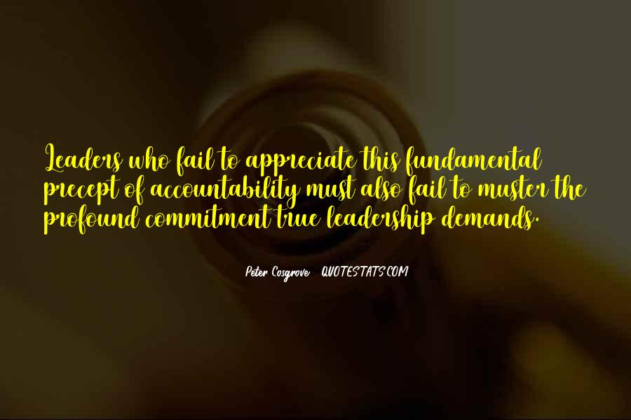 Cosgrove Leadership Quotes #1087428