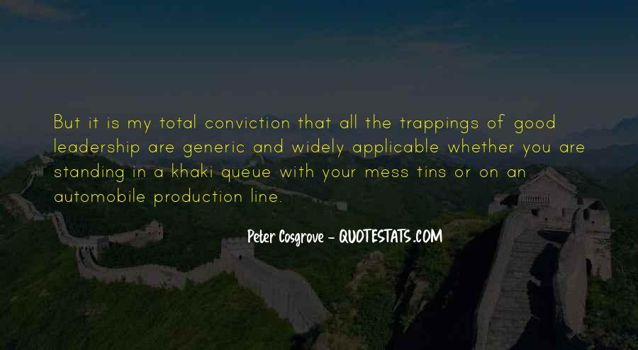 Cosgrove Leadership Quotes #258722