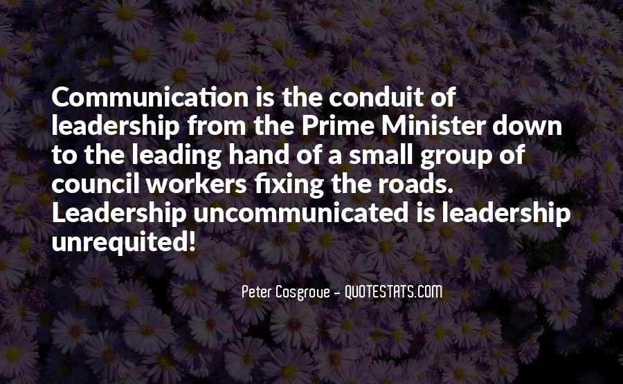 Cosgrove Leadership Quotes #769345