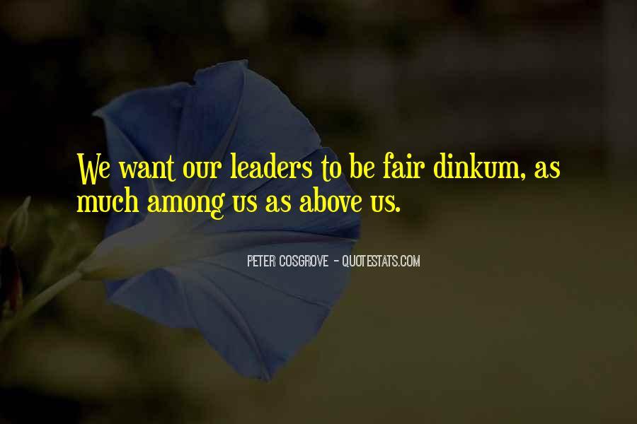 Cosgrove Leadership Quotes #982574