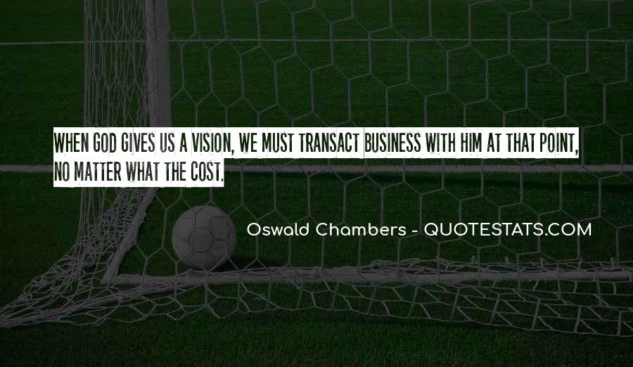 Cost Of Doing Business Quotes #1013604