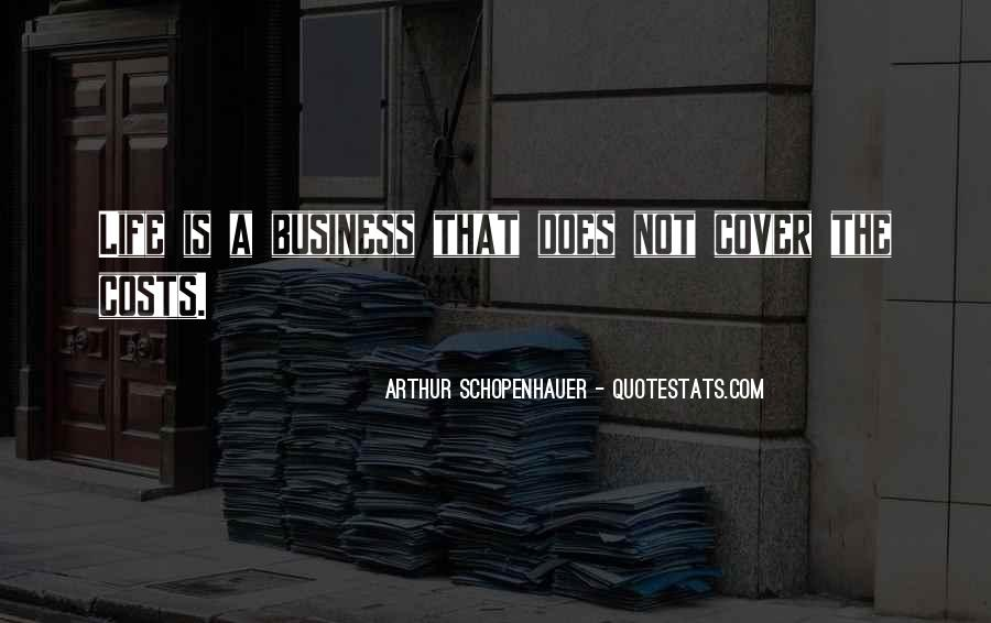 Cost Of Doing Business Quotes #123436