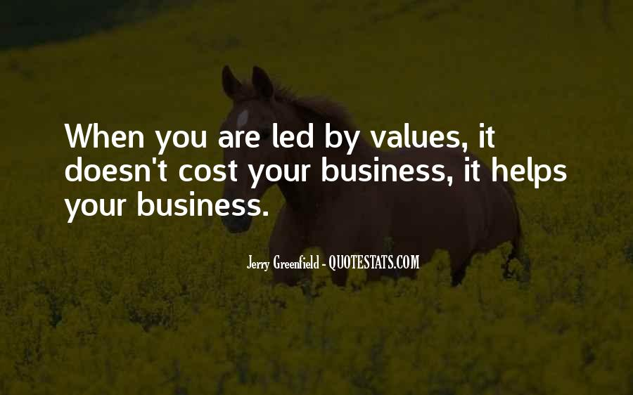 Cost Of Doing Business Quotes #134282