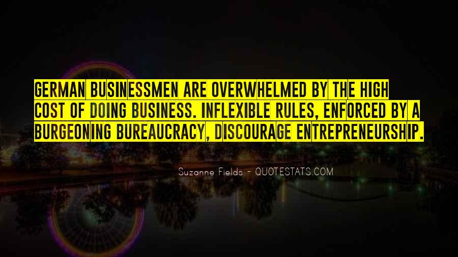 Cost Of Doing Business Quotes #137081