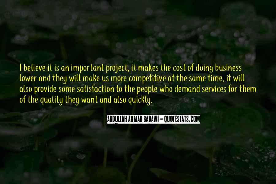 Cost Of Doing Business Quotes #226909