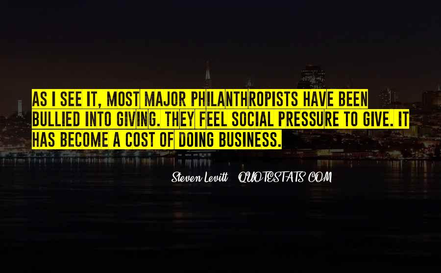 Cost Of Doing Business Quotes #241021