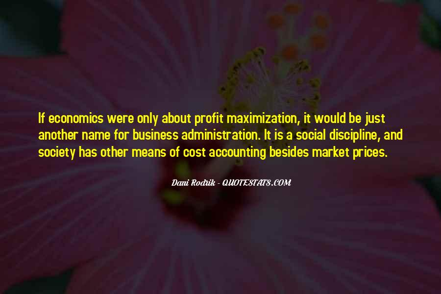 Cost Of Doing Business Quotes #265687