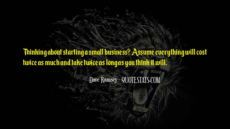 Cost Of Doing Business Quotes #331801