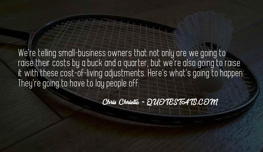 Cost Of Doing Business Quotes #405960