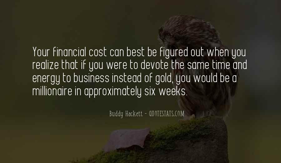 Cost Of Doing Business Quotes #484766
