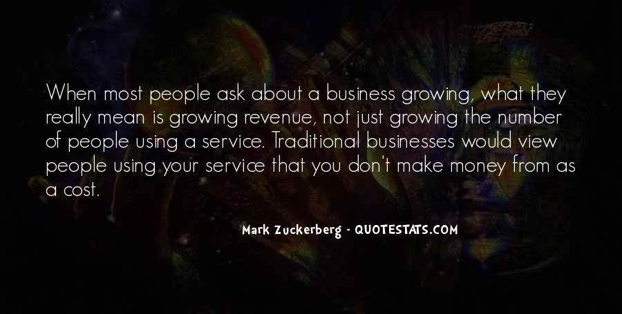 Cost Of Doing Business Quotes #542896