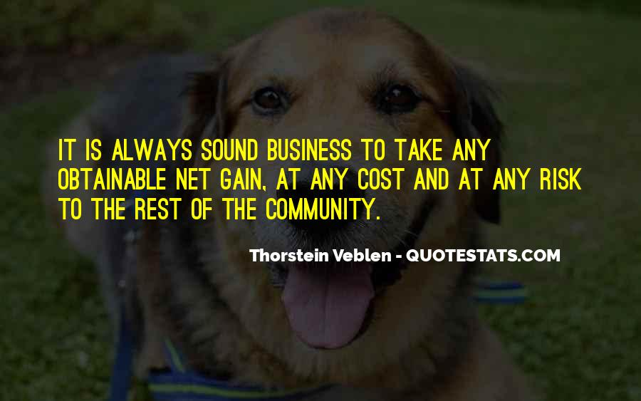 Cost Of Doing Business Quotes #59683