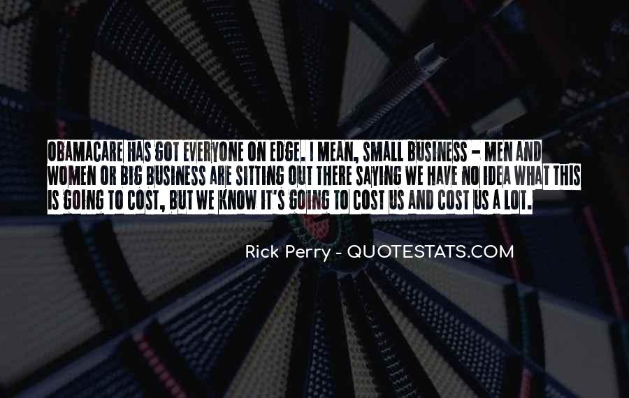 Cost Of Doing Business Quotes #63996