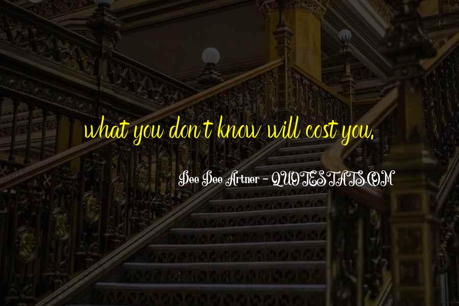 Cost Of Doing Business Quotes #754407