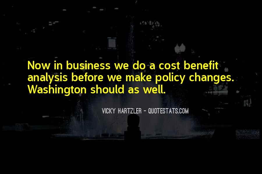 Cost Of Doing Business Quotes #756713