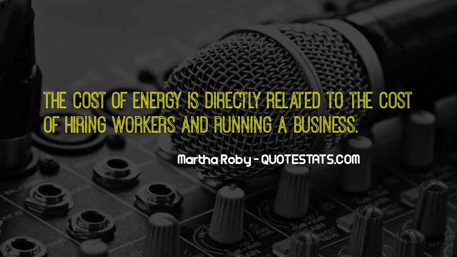 Cost Of Doing Business Quotes #966413