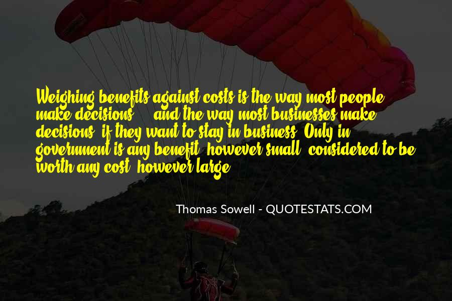 Cost Of Doing Business Quotes #967723