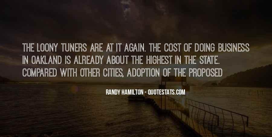 Cost Of Doing Business Quotes #99516