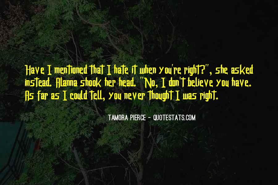 Could Never Hate You Quotes #1552186