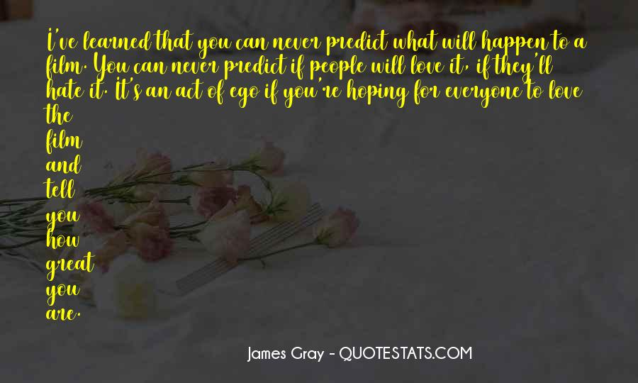 Could Never Hate You Quotes #160040