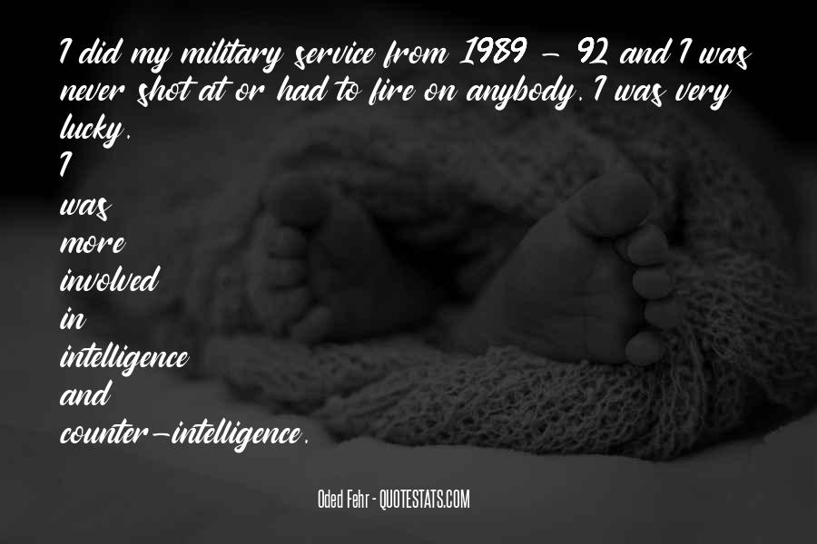 Counter Intelligence Quotes #1551125
