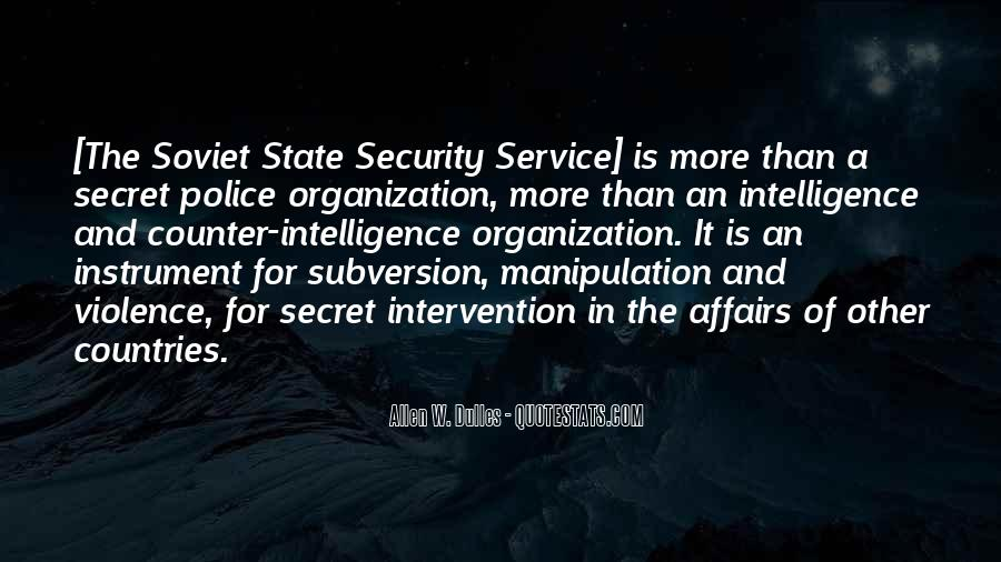 Counter Intelligence Quotes #369257