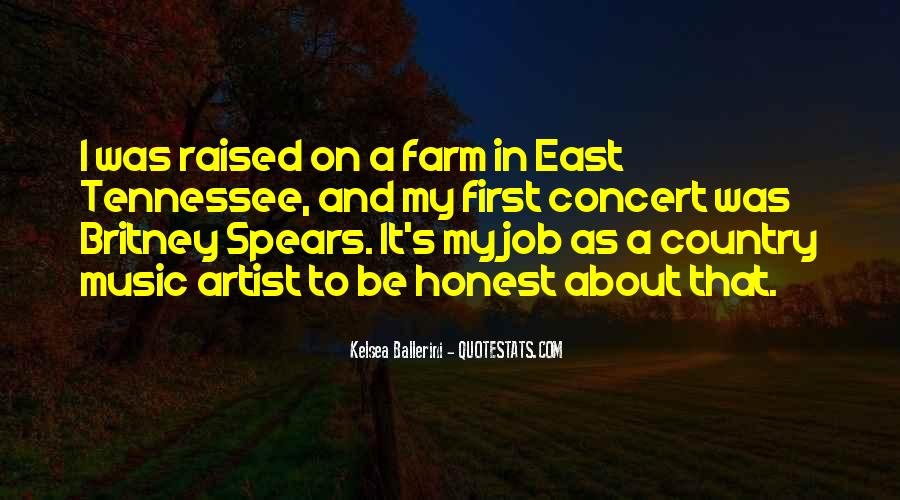 Country Concert Quotes #232201