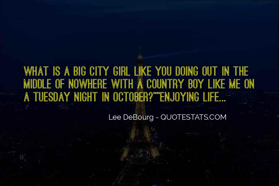 Country Girl Vs City Girl Quotes #539135